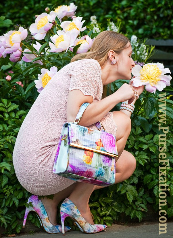Flortal & pastels matching outfit
