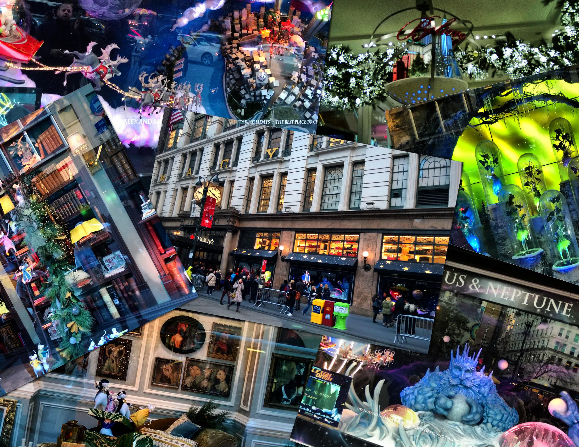 NYC Christmas Window Displays | Pursefixation.com