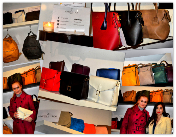 Angela & Roi vegan handbags, donate by color charity causes
