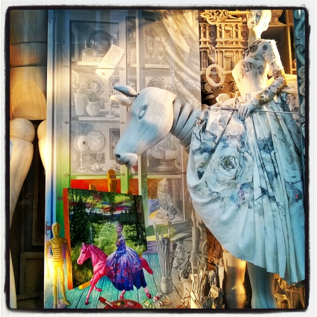Bergdorf Goodman Christmas Window Displays