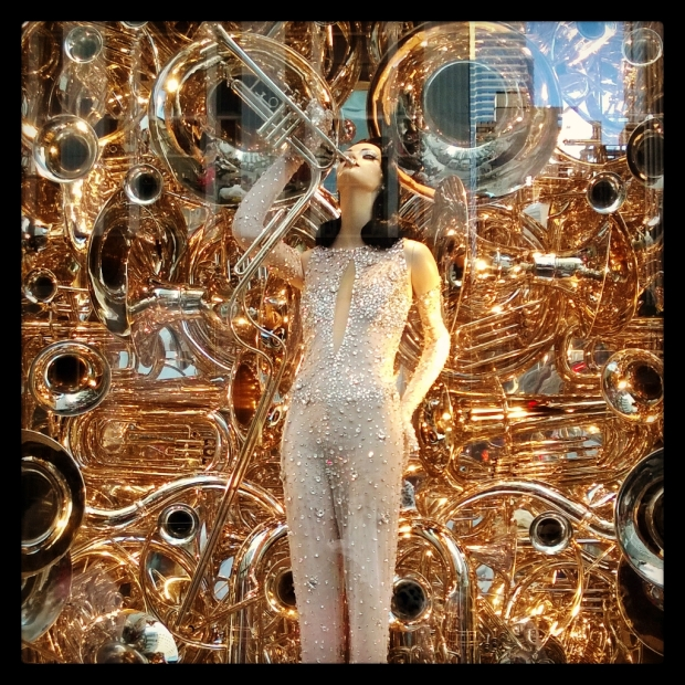 Bergdorf Goodman Christmas Window Displays, NYC.
