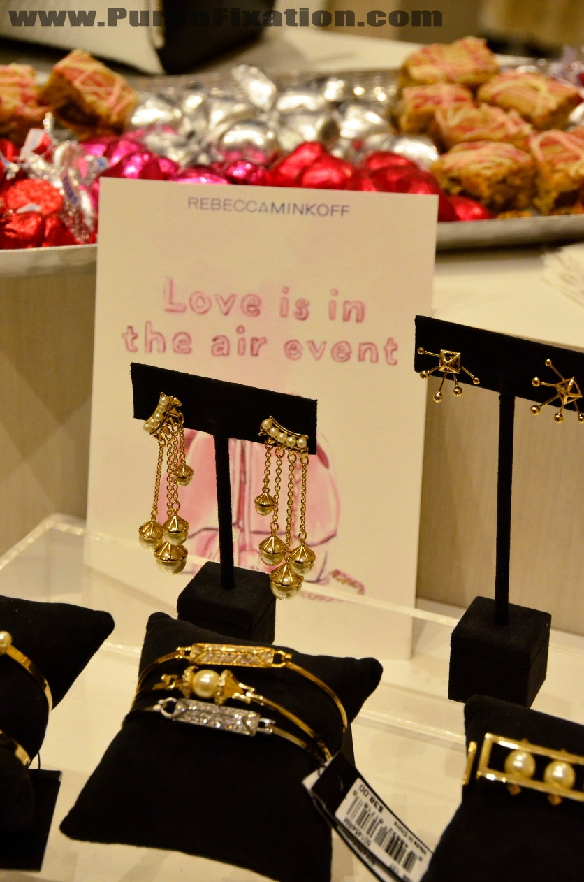 LOve is in the air Valentine's Day party at Rebecca Minkoff