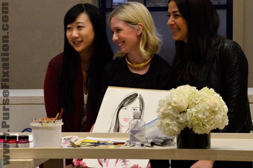 Meagan Morrison Fashion Illustrator and Rebecca Minkoff