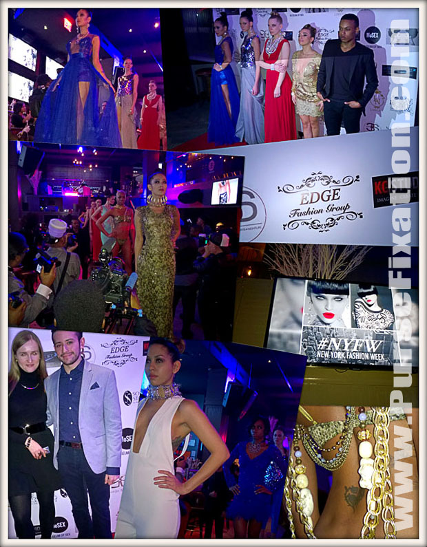 REd Carpet NYFW Kick Off event with Edge Fashion Group