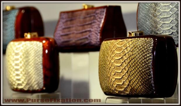 Rocio wooden purses