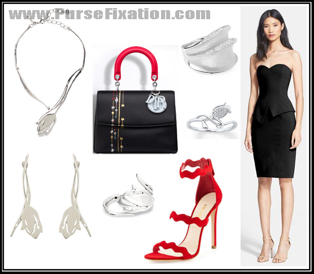 Be Dior handbag and matching outfit ideas