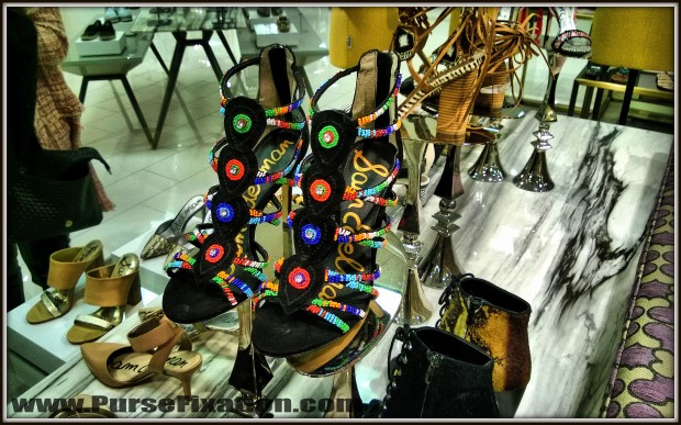 Sam Edelman sandals at Lord and Taylor NYC
