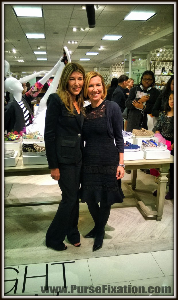 Nina Garcia at ShoesFirst event at Lord and Taylor 5th Avenue NYC