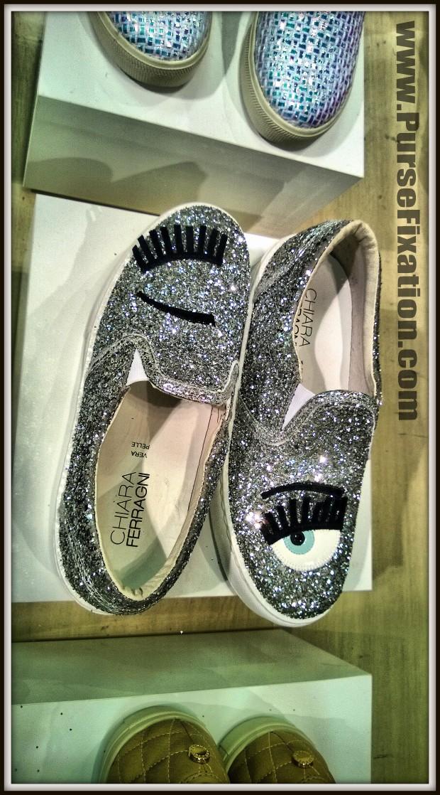 Chiara Ferragni Winking Glitter sneakers
