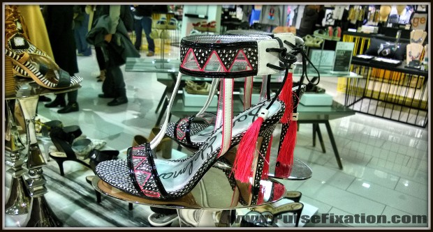 Sam Edelman sandals at Lord and Taylor 5th Avenue NYC