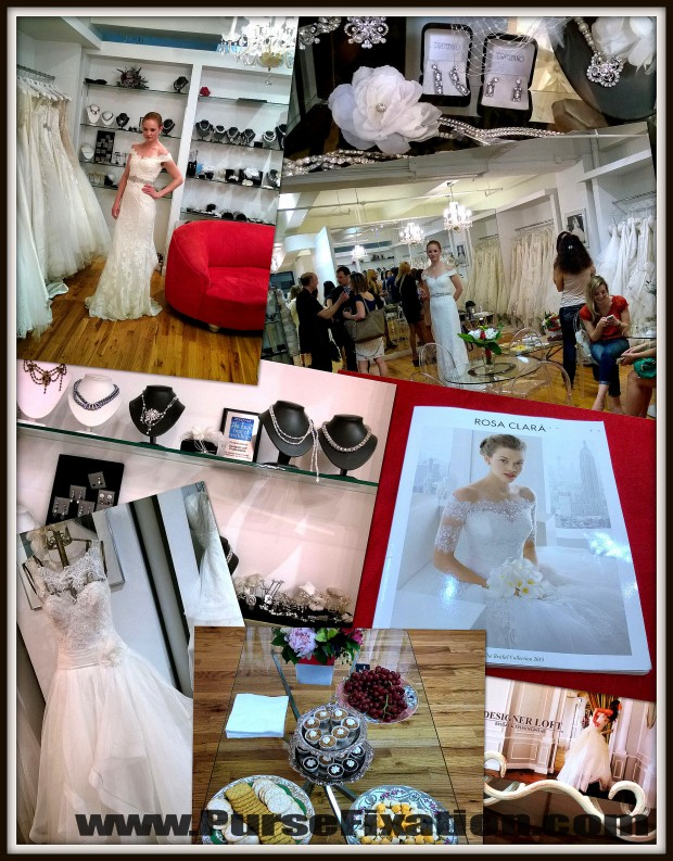 Rosa Clara Bridal at Designer Loft NYC